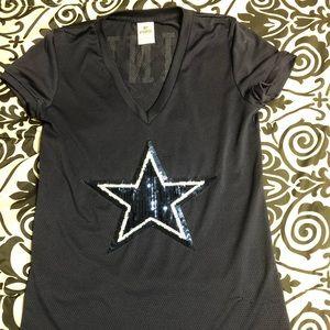 PINK Dallas Cowboys Jersey shirt